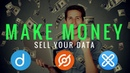 MAKE MONEY By Selling Your Data - GXChain, Datum, DataCoin, and Bottos