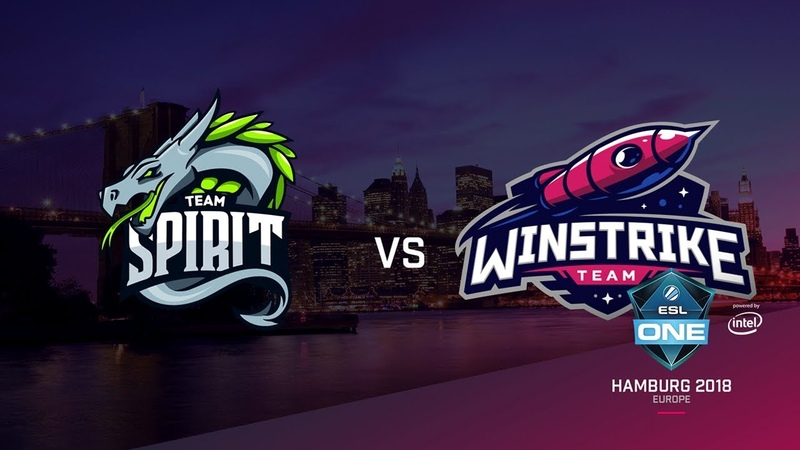 Team Spirit vs Winstrike, ESL Closed Quals EU, bo3, game 2 [Maelstorm LighTofHeaveN]