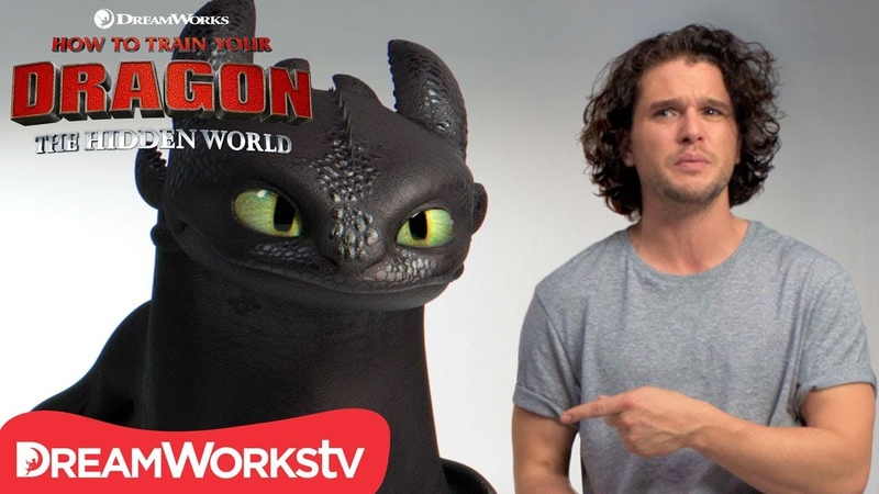 HOW TO TRAIN YOUR DRAGON THE HIDDEN WORLD | Kit Harington Auditions with Toothless