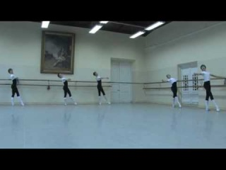 Vaganova A�ademy.5-class boys Classical ballet.Exam,teacher Fiton Miocci.2010 ye...
