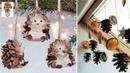 Niesamowite pomysły na ozdoby i dekoracje z szyszek 1