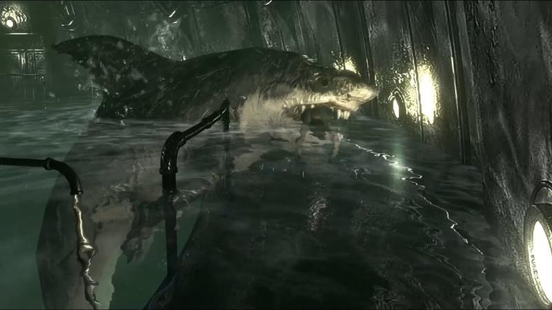 Resident Evil ► Гигантская акула ► 6