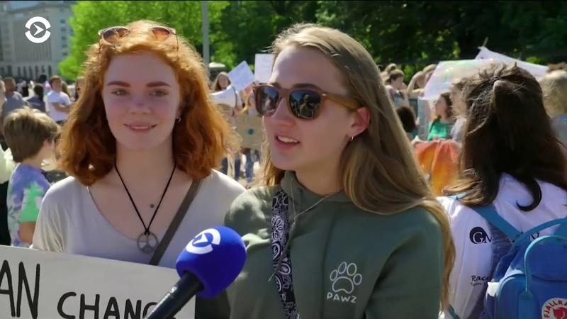 Школьники против глобального потепления: в 125 странах мира прошли массовые митинги
