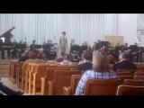 Концерт эстрадного оркестра. Дирижер Георгии Дядькин.