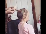 Причёска для маленького зайчика