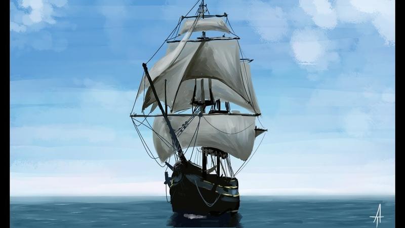 Speedpaint Sketch - Скетч Корабль