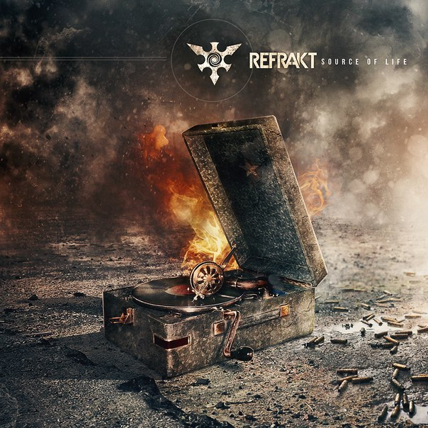 Дебютный EP группы REFRAKT - Source Of Life (2013)