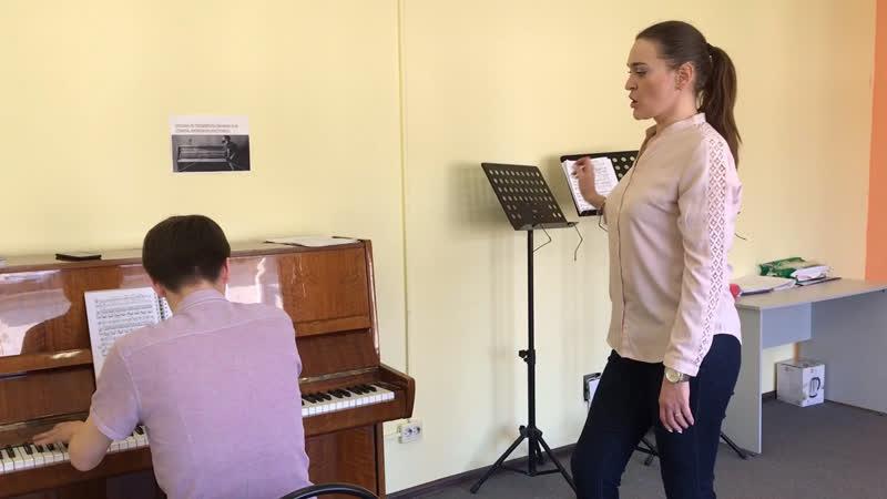 Репетиция перед концертом Высшая школа вокального мастерства Ларисы Юдиной