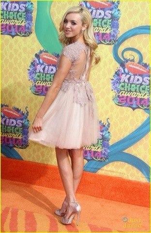 Real Peyton List Peyton Roi List Kids Choice Awards