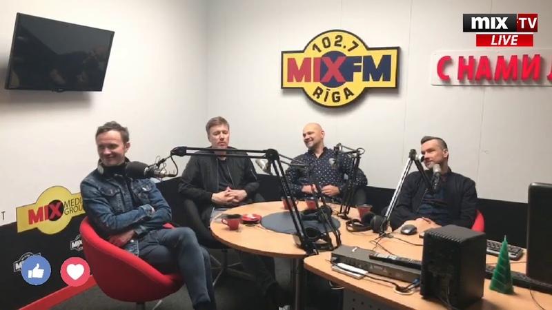 В гостях MIX MEDIA GROUP - группа Prāta Vētra (Brainstorm) MIXTV