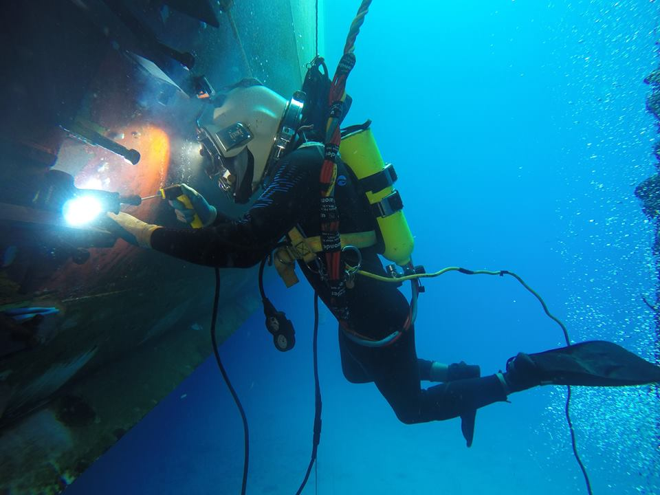 Особенности подводной сварки
