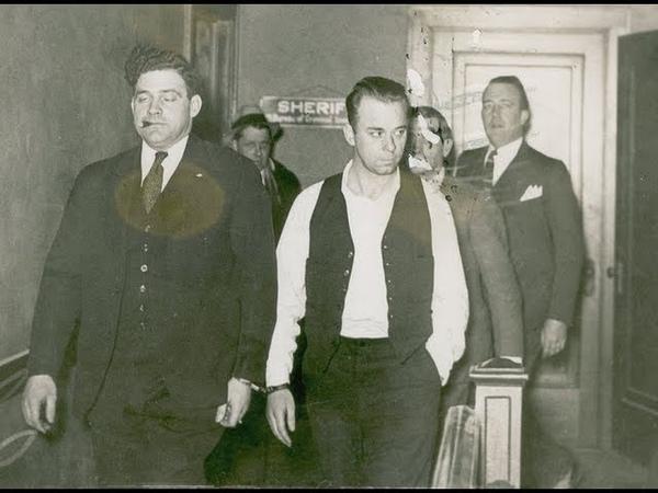 Джон Диллинджер - Гангстер который смог стать врагом общества номер один . Джон Ди