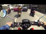 Honda grom / msx bangkok ride with yoshimura rs-9 full system / K&N air filter