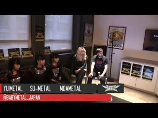 Babymetal - twitch stream - 2016.04.04 (русская озвучка)