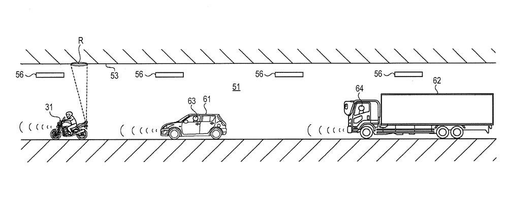 Компания Suzuki патентует систему безопасности для езды в тоннеле