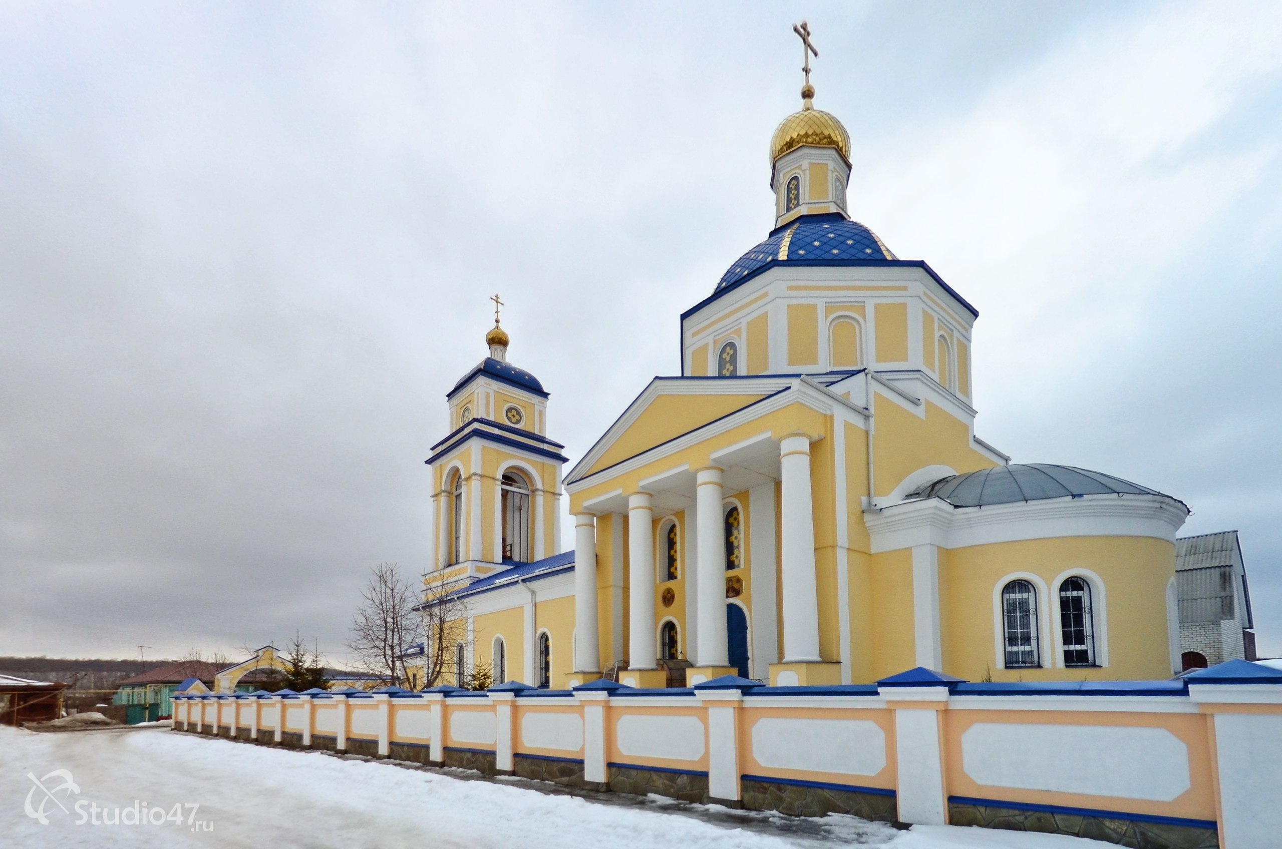 Казанский храм в Борисоглебске