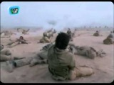 Iran & Iraq War, light armed Iranian troops attacked by helicopters (Operation Beit ol-Moqaddas)
