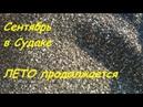 Крым, Судак, Кипарисовая Аллея и Пляж 21 сентября 2018. Лето продолжается