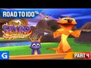 Spyro 3: Year of the Dragon [Road to 100%] [04] [Midday Gardens] - Glitches Everywhere!