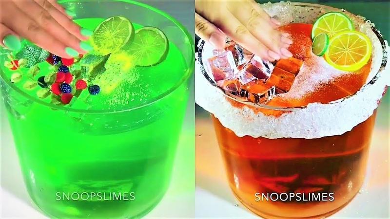 SHINY JIGGLY SLIME | ASMR Satisfying Slime
