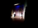 Танец пап и дочек на юбилей сада