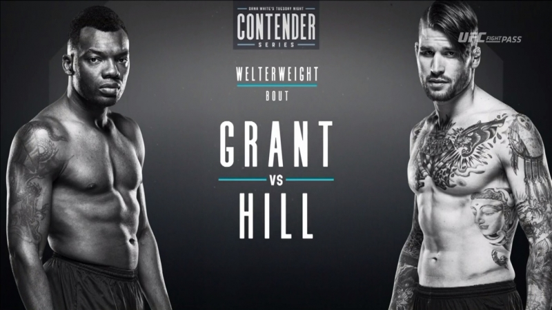 Dana White's Tuesday Night Contender Series S2E2: Dwight Grant vs Tyler Hill