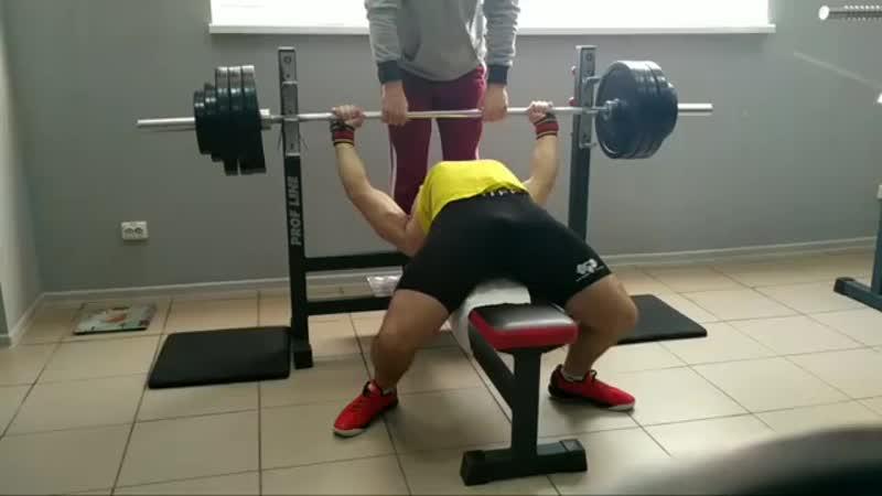 Попытка 170 кг на 2 раза! (На пути к 180 кг)