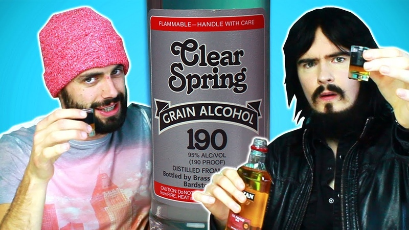 Irish People Try Americas Strongest Alcohol (95, 190 Proof)