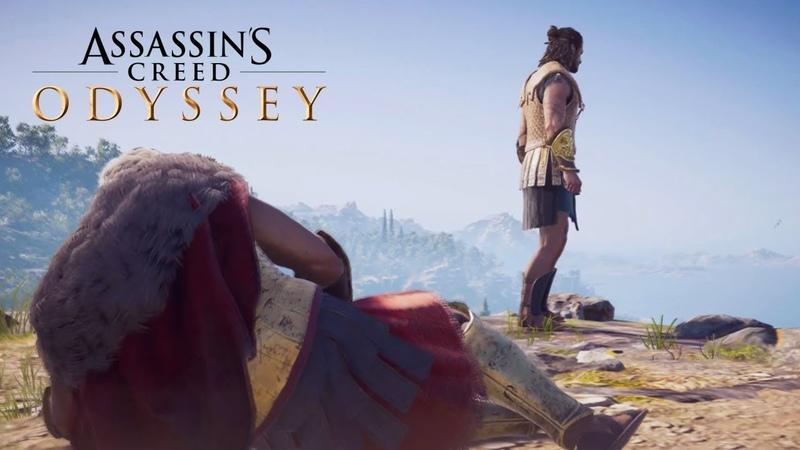 ЗАДУШЕВНЫЕ РАЗГОВОРЫ С БАТЕЙ ► Прохождение Assassin's Creed Odyssey 10