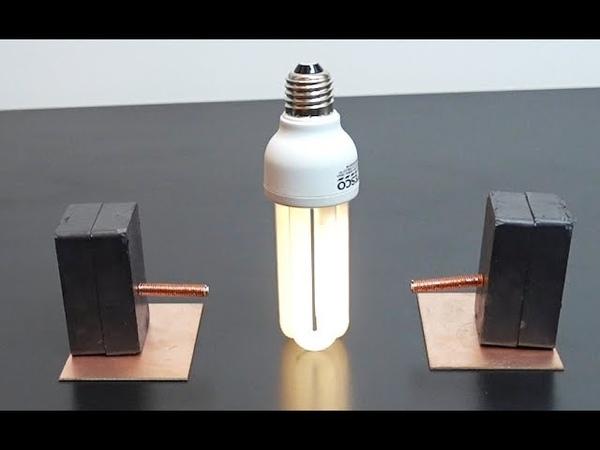 Free Energy Light Bulbs 230V Using Magnets