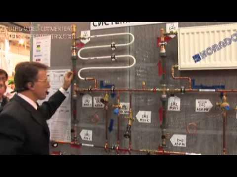 Двухтрубные системы с автоматическими балансировочными клапанами