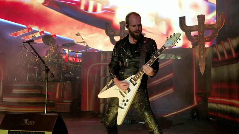 Judas Priest - Rising From Ruins (w Guardians intro) Michigan Lottery Amphitheatre 8-24-18