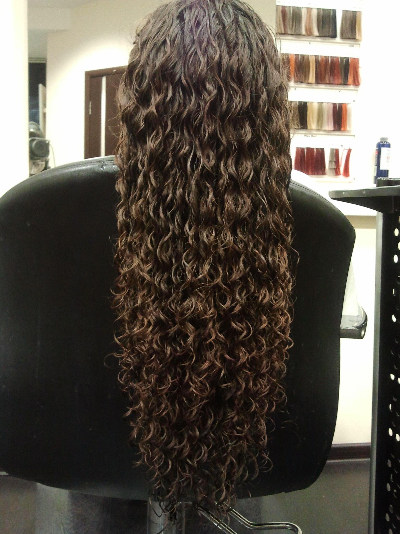 Long Hair Tight Curls Spiral Perm 10011011110010110100 Tags | Male ...