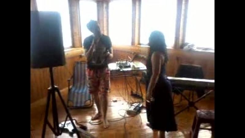 Видео в исполнении Риты Знаменской песни группы Louna
