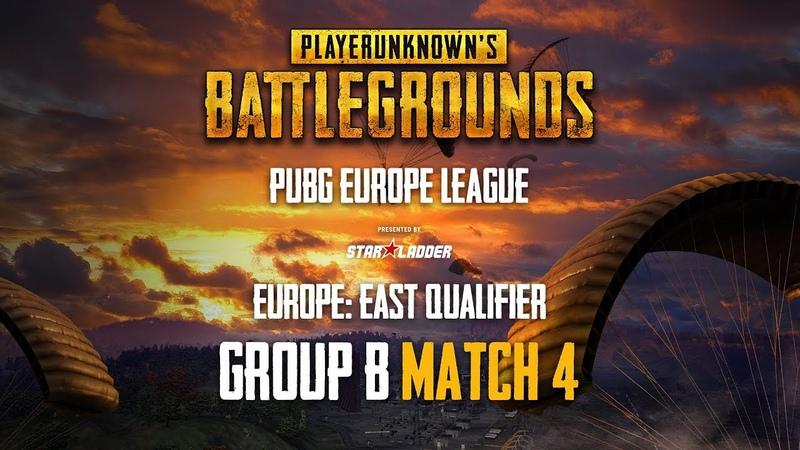 Match 4, Group B, PUBG Europe League - Europe East Qualifiers