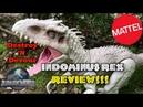 Mattel Destroy 'N Devour Indominus Rex Review!! Jurassic World