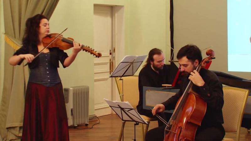 Атилио Ариости - Соната для виолы д`амур и бассо континуо