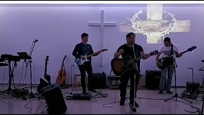 Молитва поклонения г Новокубанск вечер, (Галим Хусаинов)