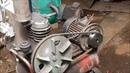 Ремонт компрессора СО-7Б. Замена сгоревшего мотора.