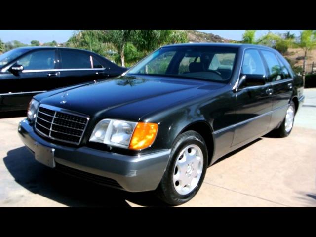 Mercedes Benz W140 S600 S500 600SEL 300SE Excellent 54K orig Miles S 600 500 320