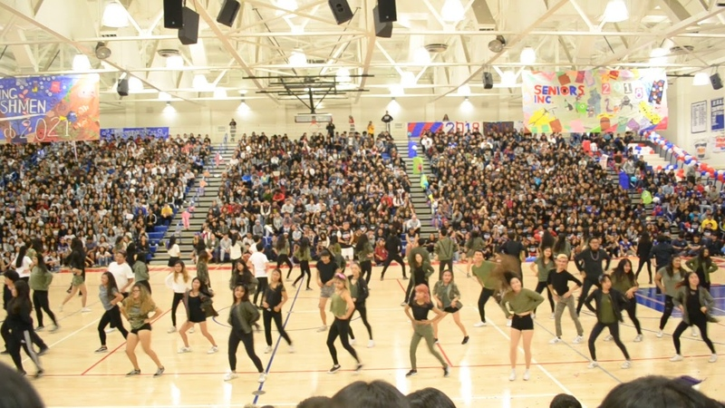 IHS Korean Club Homecoming Rally 2017