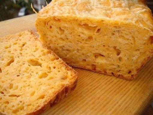 Сырный хлеб Сегодня мы будем готовить сырный