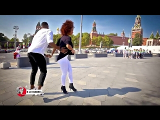 Timba cubana en La Plaza Roja de Moscú (Russia) - salsa cubana