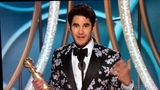 Half-Filipino actor Darren Criss wins the Golden Globe and dedicates it to his Filipino mother
