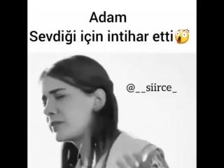 MUHTEŞEM SAHNE ADAM SEVDİĞİ KIZ İÇİN İNTİHAR ETTİ!!!.mp4