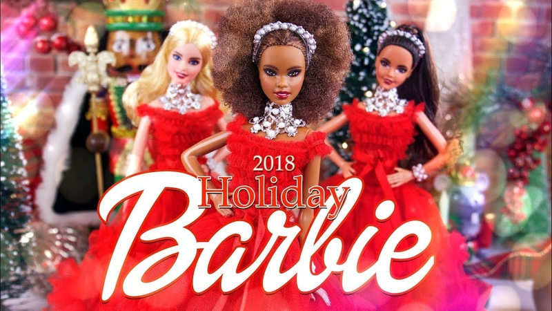 ОБЗОР кукол ALL NEW 2018 Holiday Barbie 28 BFF