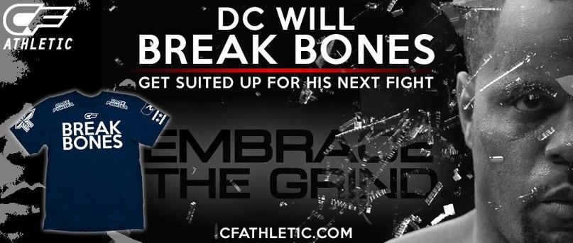 Break Bones – новый слоган для Даниэля Кормье