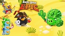 ЗЛЫЕ ПТИЧКИ против СВИНА КАКТУСА и СВИНОЗОМБИ Мульт игра про СЕРДИТЫХ ПТИЧЕК Angry Birds Epic