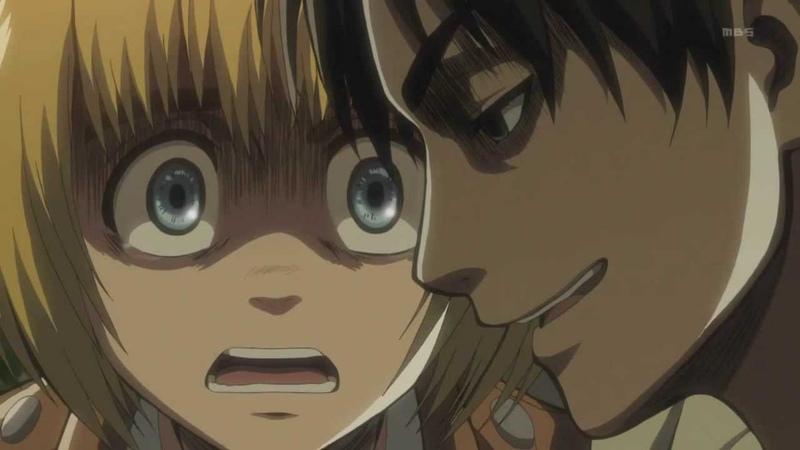 Shingeki No Kyojin Attack on Titan (Episode 9) - Eren saying Ill Kill You