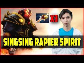 TT.SingSing Ember Spirit 3 Rapiers /w CAM&Voice Chat | Dota 2 Gameplay